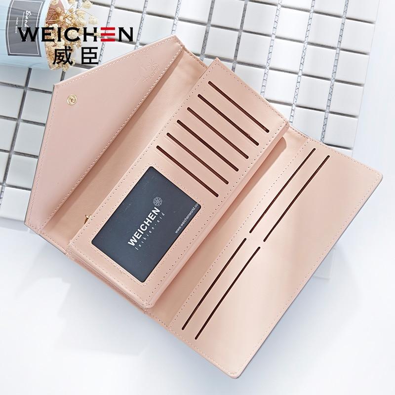 Weichen caliente monedero geométrico monedero mujer diseñador de la - Monederos y carteras - foto 4