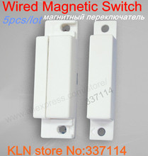 KONLEN wired magnetic switch sensor window/door alarm  sc 1 st  AliExpress.com & Buy security door switches and get free shipping on AliExpress.com pezcame.com