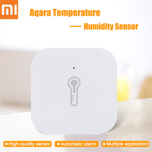 New Original Xiaomi Aqara Temperature Humidity Sensor Smart Home Device Air Pressure Work With Android IOS APP Fast Ship