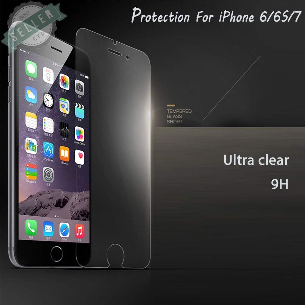 High Quality Ultra clear Tempered Glass For iPhone 6 6s