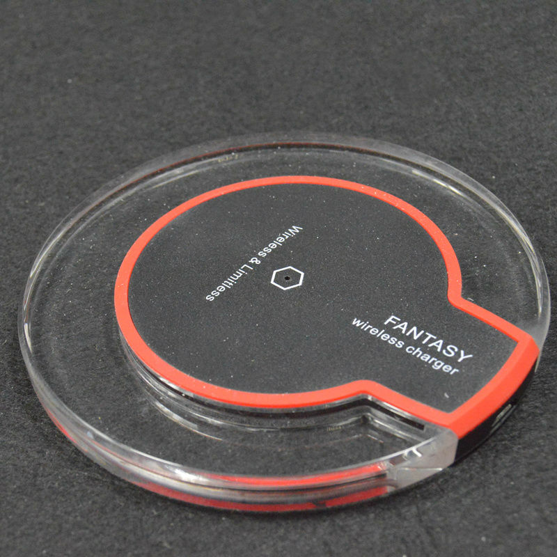 qi wireless charger wood