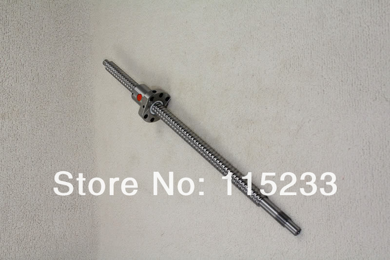 ФОТО Shop Promotions Ball screw SFU2005-1295mm-C7 with ball nut and end machined for CNC XYZ