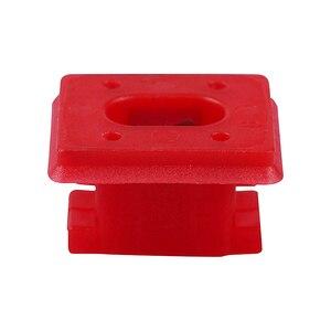 Image 4 - Hebilla de fijación para Panel Interior de 20 piezas, para BMW E46 / E65 / E66/E83N, Clips embellecedores para tablero, arandelas para insertar en tira roja