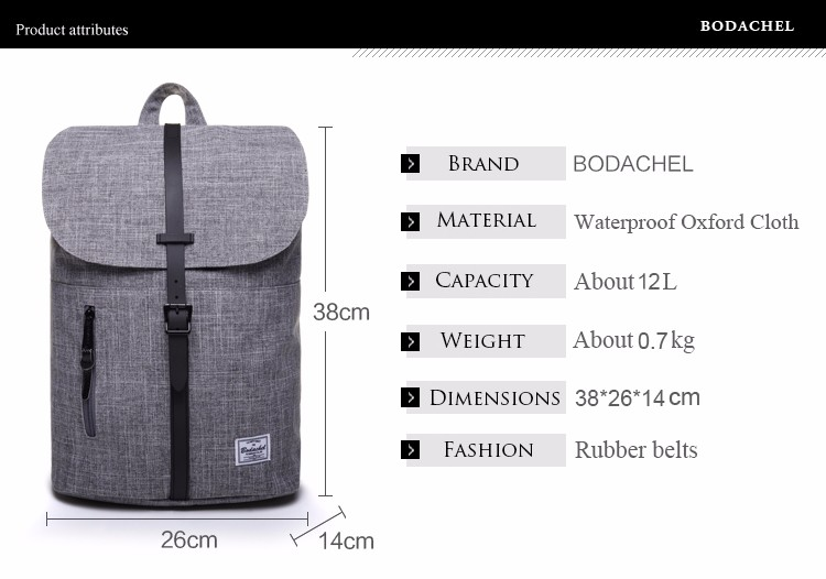 Bodachel women backpack (3)