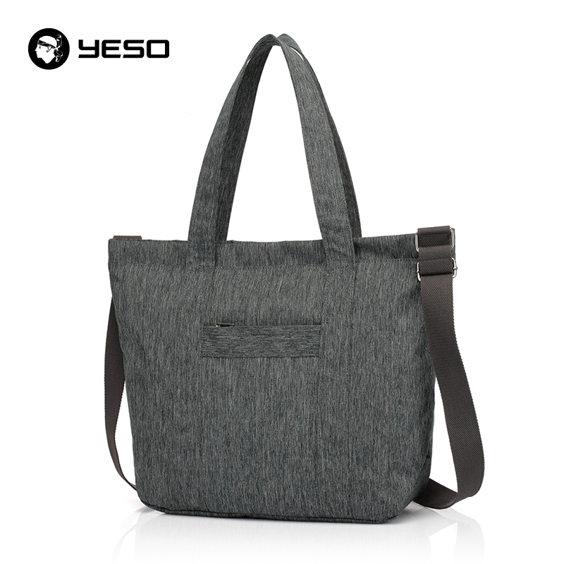 YESO New Simple Casual Crossbody Bag Unisex Lightweight Shoulder Bag For Women High Quality Waterproof Oxford Men Crossbody Bag