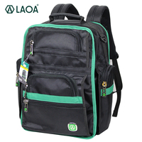 LAOA LA115701 Oxford Fabric Shoulders Backpack Tools Bag Multifunction Thicken Professional Electrician Backpack Travel Bag