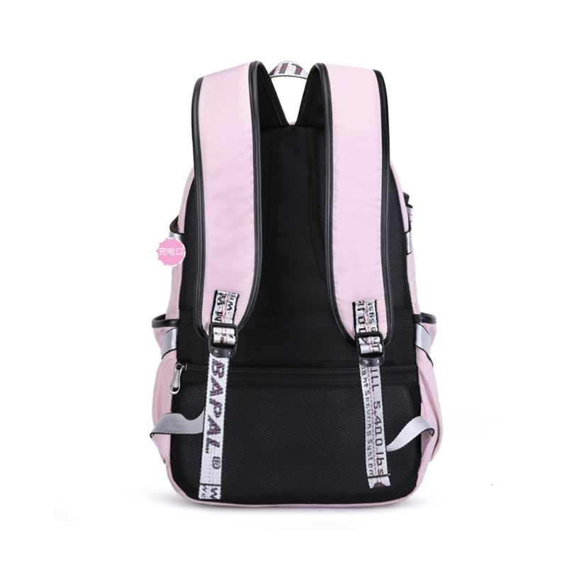 Premium New Laptop Women Large Capacity Backpack USB Charge Port Computer Daypack Anti theft School Bag for Teenage Girls in Backpacks from Luggage Bags