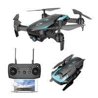 Global Drone FPV Selfie Dron Foldable Drone with Camera HD Wide Angle Live Video Wifi RC Quadcopter Quadrocopter VS X12 E58