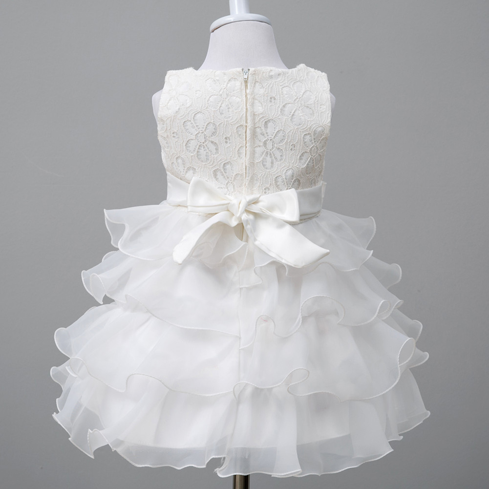Baby Girl Dress Princess Ball Gown Kids Christening Events Party