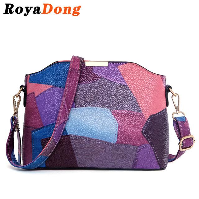 RoyaDong Crossbody Sacos Para As Mulheres Saco Do Mensageiro Saco de Mão das Senhoras Sacos de Ombro de Couro Pequena Senhora 2016