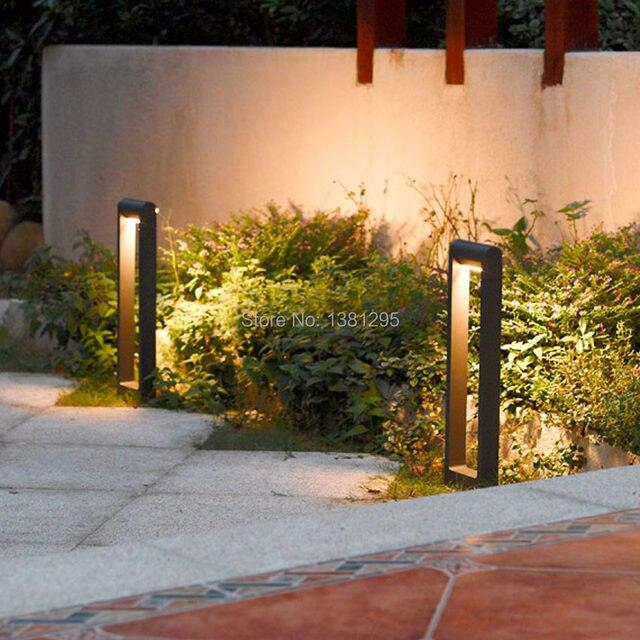online shop aluminum alloy outdoor led garden bollard path lights 6w
