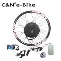 High Speed 72v 3000w Electric Motorcycle Kit 3kw Electric Bike Conversion Kit With TFT Display