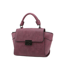 Nubuck Leather Women Retro Hand Bag Trendy Fashion Ladies Succinct Plain font b Handbag b font
