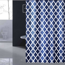 Shower Curtain 72 x 72 inch Anti Bacterial Waterproof Personality Polyester Fabric Bathroom Home/Travel/Hotel Shower Curtain D50