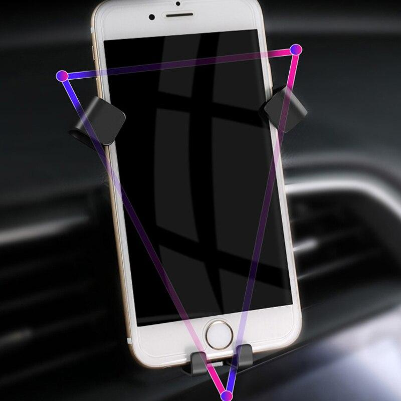 Für Mazda CX-5 CX5 2nd Gen 2017 2018 2019 Auto Air Vent Halterung Einstellbare Telefon Halter Stehen für Handy telefon Stabile Wiege