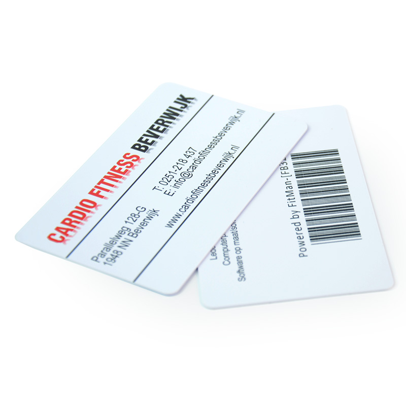 Custom printed plastic pvc barcode business cards-in Business ...