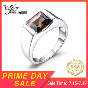 JewelryPalace Men 925 Sterling Silver Wedding Rings