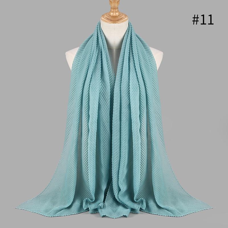 New Cotton Wrinkle Womens Lace Beading Long Scarf Muslim Hijab Maxi Shawl Wrap