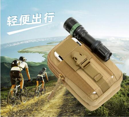 UniversalMilitary Tactical Holster Hip Belt Bag Waist Phone Case For AGM X1 mini UMiDIGI S Elephone A8 Leagoo KIICAA Power