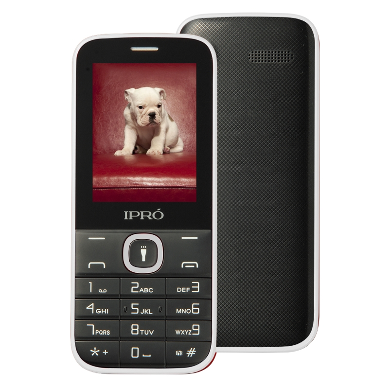 Original IPRO Big Keyboard 2 4 inch Cell Phone Dual SIM Phone for The Elderly With