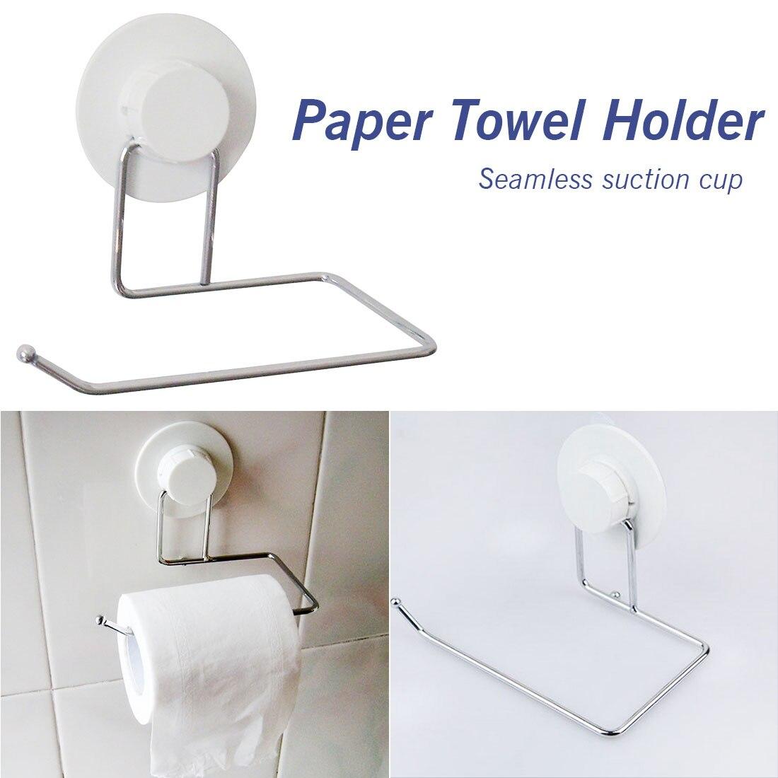Paper Holders Toilet Bathroom Suction Hanger Tissue Rack Kitchen Towel Hook Bathroom Accessories