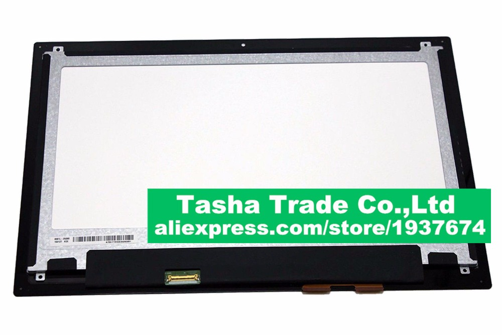 LP133WH2 (SP)(B1) For DELL Inspiron 13 7359 Digitizer LCD Touch Screen Assembly LED Display Replacement 1366*768 13 3 laptop replacement screen lp133wh2 tl m5 lcd display panel monitor lp133wh2 tlm5 04w1768 lvds 1366x768 free shipping