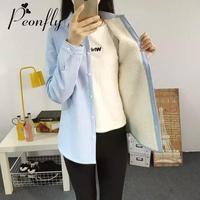 Blouses féminin chemises Coton Camisas Femininas Blusa Dames Tops Automne et d'hiver Chemise À Manches Longues Femmes blouse féminine