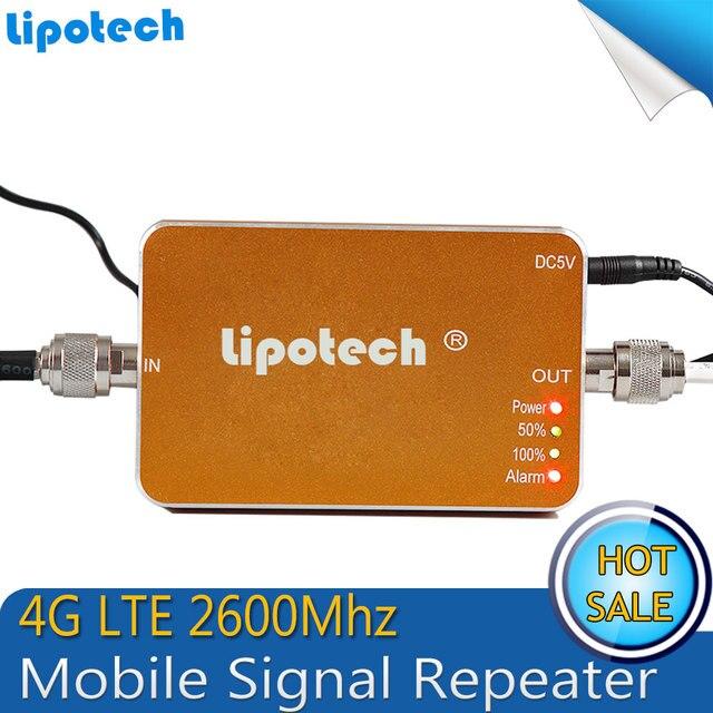 2016 новый Обновление 4 Г 2600 МГц Репитер Сигнала Мобильного Телефона, LTE усилитель Сигнала, LTE 2600 Сотовый Телефон Сигнал Повторителя Booster