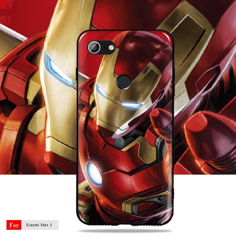 Phone Case For Google Pixel 3 Case Cover Iron Man For Google Pixel 2 2XL 3 Soft TPU Silicon Case For Google Pixel 2XL Cover