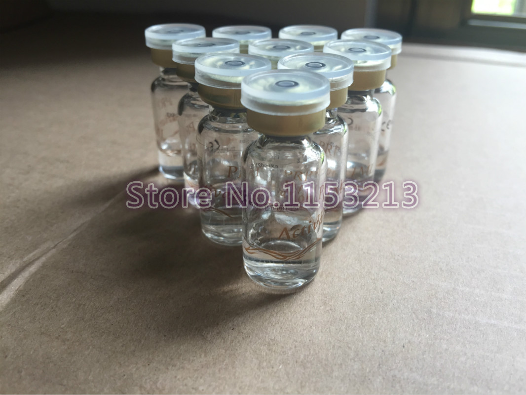 10 vials Beauty PRP activating liquid, Serum activators, Calcium chloride solution 1ml/ vial, Sterile non-toxic, Sub-installed