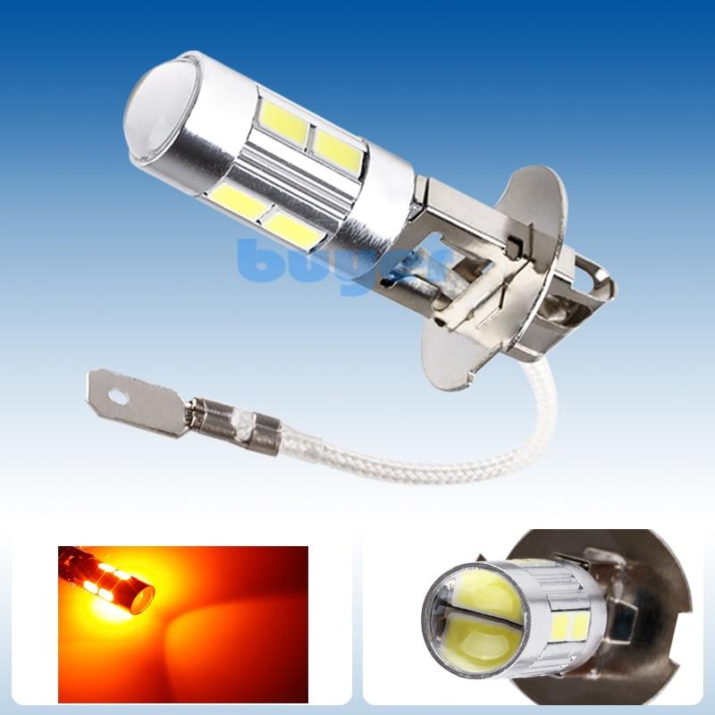 Led Lights Ender 3: 4PCS H3 LED Light Replacement Bulbs For Car Fog Light
