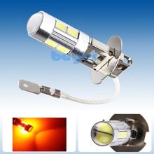 4PCS H3 LED light Replacement Bulbs For Car Fog Light Driving Lamps high power Auto led bulbs Car Light Source parking 12V Amber
