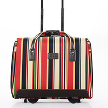 "valiz bag Travel land trolley luggage super wear suitcase box 28"" top quality Canvas   rolling new men women free shipping 16"
