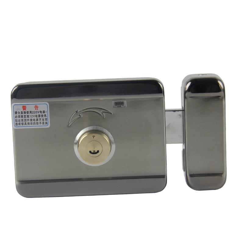 Electric Control Lock Electronic Door Lock For Video Intercom Doorbell Door Access Control System Video Door Phone