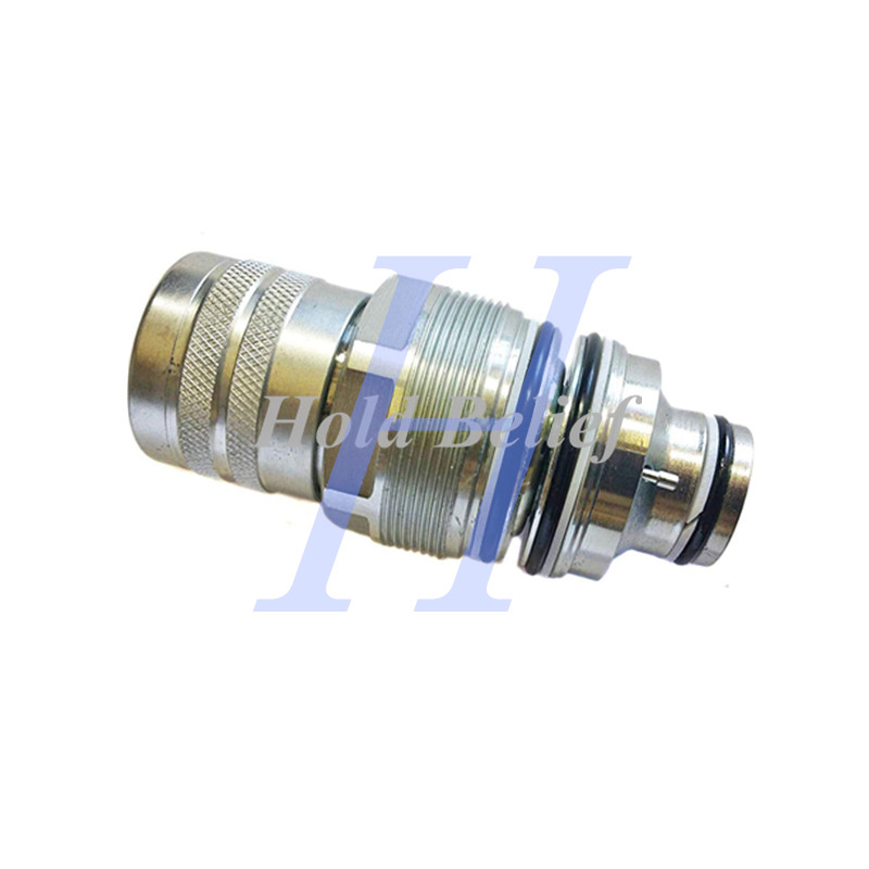 US $95 0 |Female Hydraulic Coupler 7246802 For Bobcat S650 S750 S770 S850  5600 5610 V519 V723 TL360 TL470 TL470HF-in Valves & Parts from Automobiles  &
