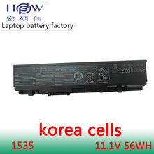 original 10.8V Laptop battery For Dell Studio 1535 1558 1536 1537 1555 1557 PP33L PP39L WU946 312-0701 KM958 A2990667 akku