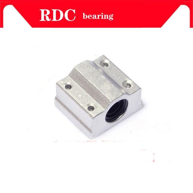 Roulements à billes à mouvement linéaire SC10UU SCS10UU   Haute qualité, douille bloc coulissant pour routeur 10mm, livraison gratuite