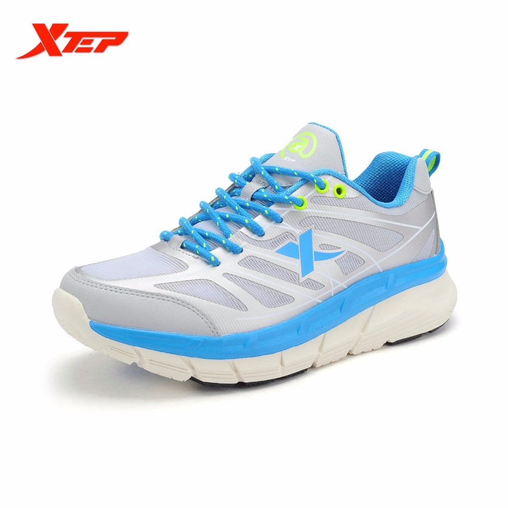 XTEP Men Running Shoes 2016 Sports Shoes Men's Athletic Sneakers Air Mesh Cheap Run Shock Resistance Trainers Shoes Cushioning