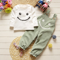 2 Pieces Sets Of Cotton Spring Fall Baby Boy Girl Suit Suit Baby Suit Boy Smiling
