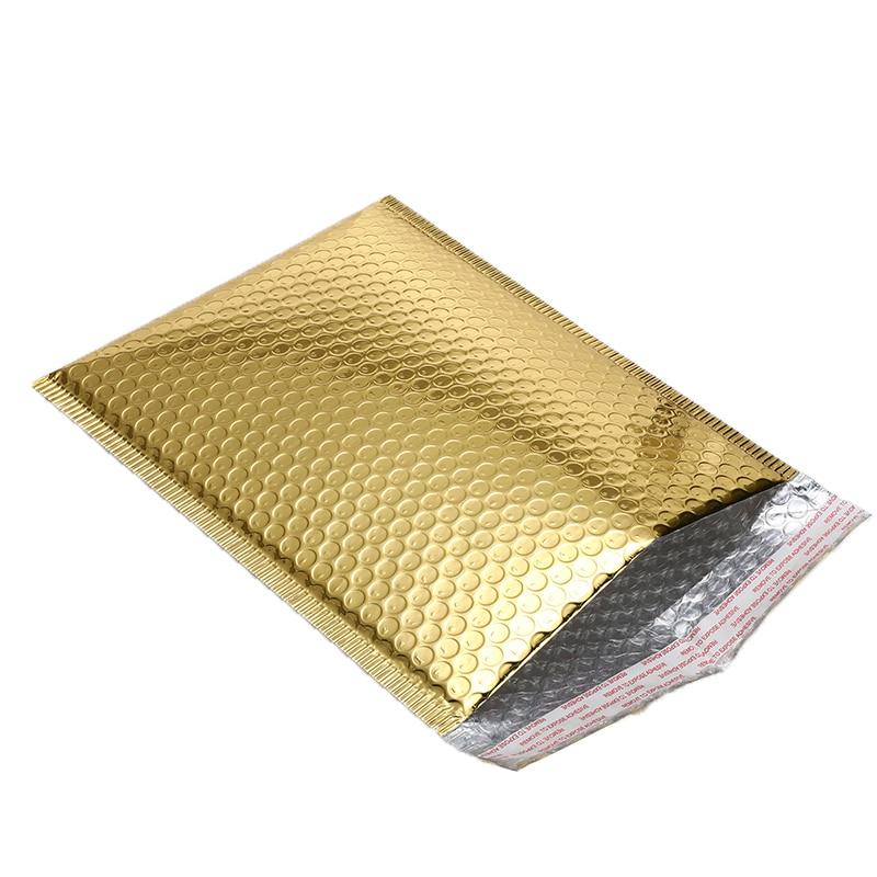 50 Pçs lote Chapeamento de Ouro Sacos