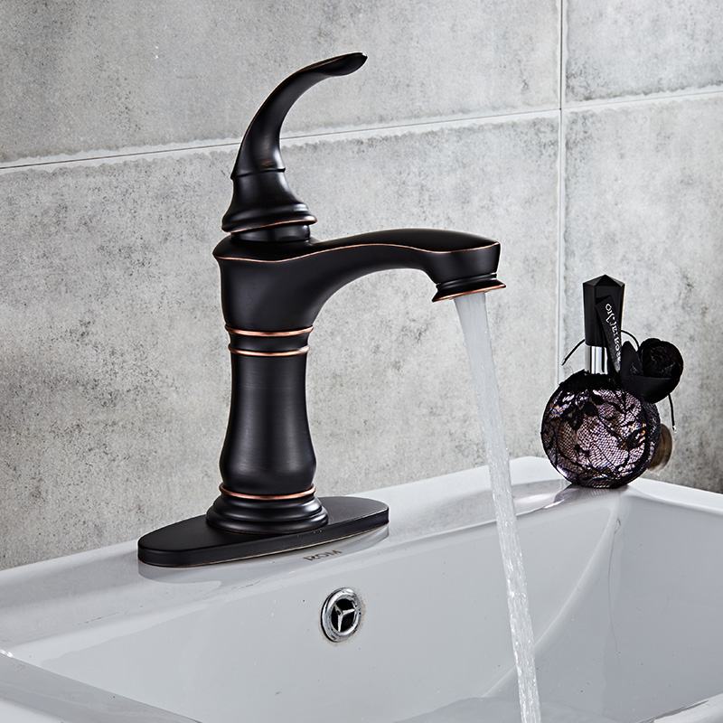 Waterfall Basin Faucets Bathroom Single handle Basin Taps Drawing Chrome Tap Bathroom Accessories Single handle Mixer Faucet A17