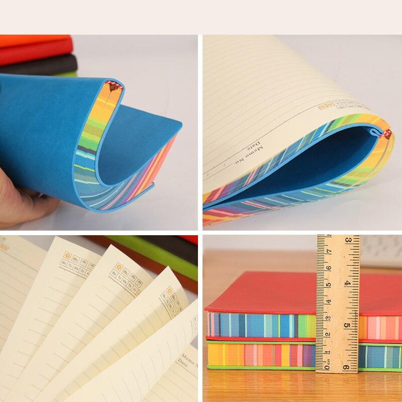RuiZe měkký obal kreativní notebook kožený žurnál deník - Bloky a záznamní knihy - Fotografie 3