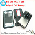 For HTC EVO 3D X515 G17 Original New Mobile Phone Full Front housing  +Middle Frame cover + battery door cover Free shipping