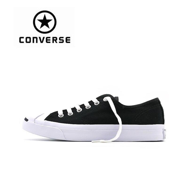 Converse sourire unisexe Skateboarding chaussures Sport authentique pour hommes femmes lumière Sports de plein air Anti-glissant Low-cut chaussures décontractées