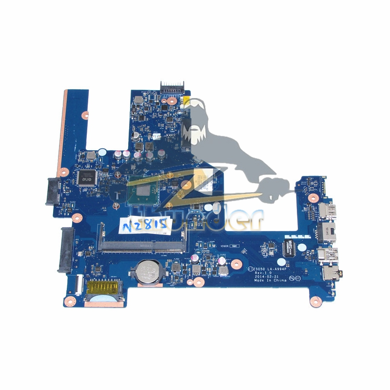 ZSO50 LA-A994P 759879-501 759879-01 for hp compaq 15 15-R 15T-R 15-S laptop motherboard SR1SJ N2815 CPU onboard DDR3L 764103 501 764103 001 main board for hp compaq 15 15 r 15t r 15 s laptop motherboard zso50 la a994p sr1w2 n3530 cpu ddr3