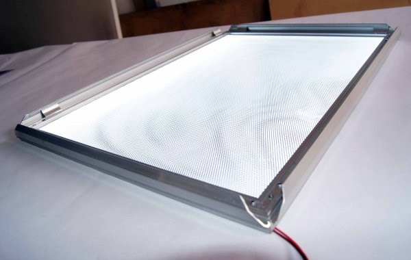 400 мм x 600 мм размер алюминиевая рама для плакатов высокой яркости светодиодный супер тонкий рекламный Лайтбоксы