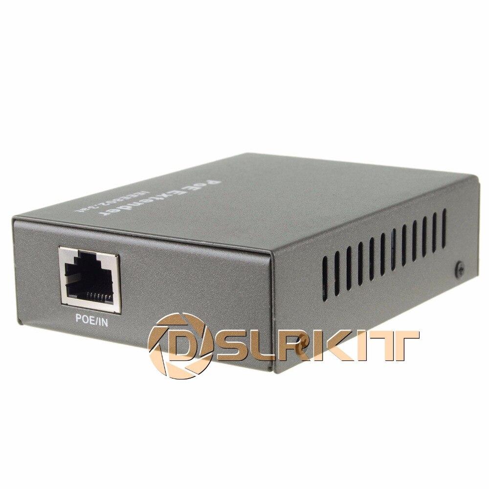 PoE Extender 100-400 mètre IEEE 802.3at Power over Ethernet Répéteur IP Caméra