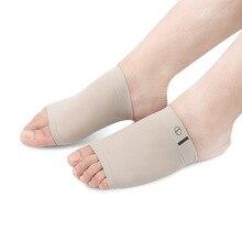Эластичный Бандаж плоская нога мужской и женский Массаж Pu Арка стопы Insured Ной коврик для ног
