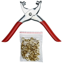 Hole Punch Hand Pliers Rivets Pliers And Rivet Punching Leather Belt tool Eyelets Grommets For Shoes Bags Leather Belt Plier 1 punching pliers hole diameter 6mm hole puncher hit 1 8 page hand punch pliers