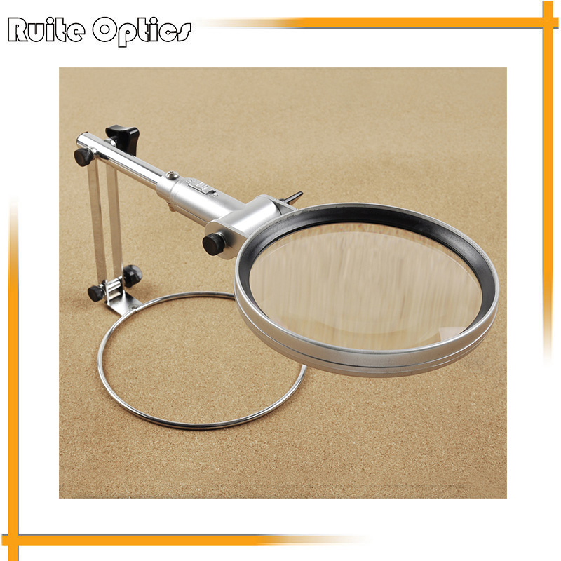2x Full Metal Foldable Acrylic Lens Magnifier LED Illumination Reading Magnifying Glass with LED Lights  цены